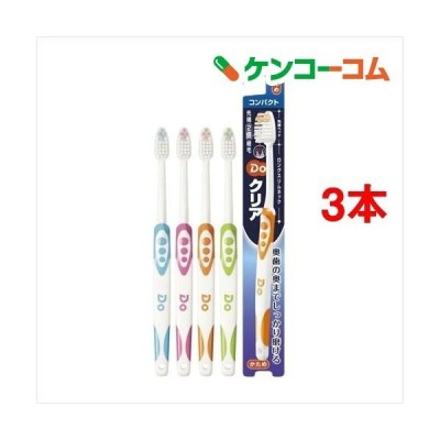 Doクリア ハブラシ コンパクト かため ( 1本入*3コセット )/ Doクリア