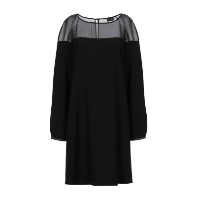エンポリオ アルマーニ EMPORIO ARMANI ミニワンピース&ドレス ブラック 40 ポリエステル 100% ミニワンピース&ドレス