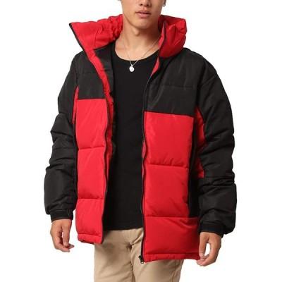 (アーケード) ARCADE 中綿ジャケット メンズ 中綿ダウンジャケット ダウンパーカー ビッグシルエット 秋冬 ブルゾン 防寒 軽量 スポーティ