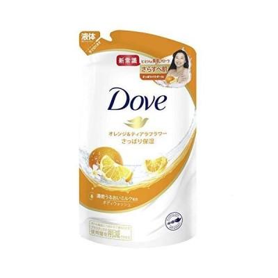 Dove(ダヴ)ボディウォッシュボディソープオレンジ&ティアラフラワー詰替え用