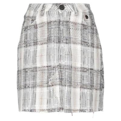 SOUVENIR ミニスカート ファッション  レディースファッション  ボトムス  スカート  ロング、マキシ丈スカート ホワイト