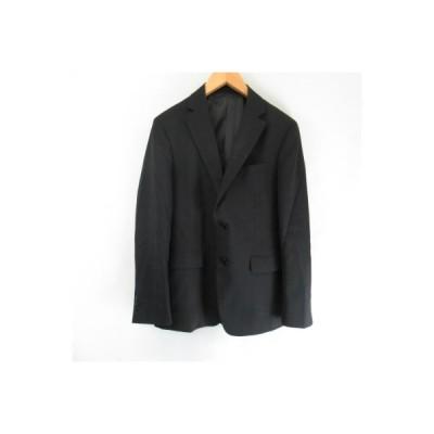 【中古】リトルノ RITORNO  ウール混 2Bジャケット  黒 ブラック A5 メンズ 【ベクトル 古着】