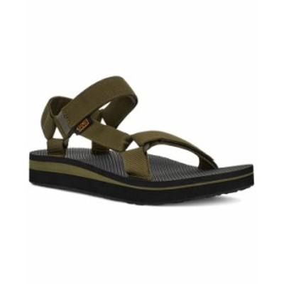 テバ メンズ サンダル シューズ Men's Mid Universal Strap Sandals Dark Olive