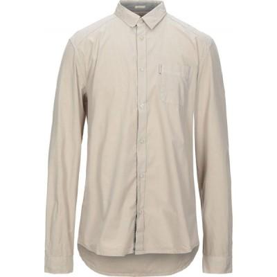 ゲス GUESS メンズ シャツ トップス Solid Color Shirt Beige
