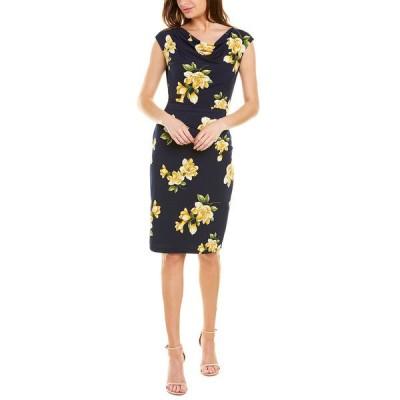 ジェシカハワード ワンピース トップス レディース Jessica Howard Sheath Dress navy/yellow