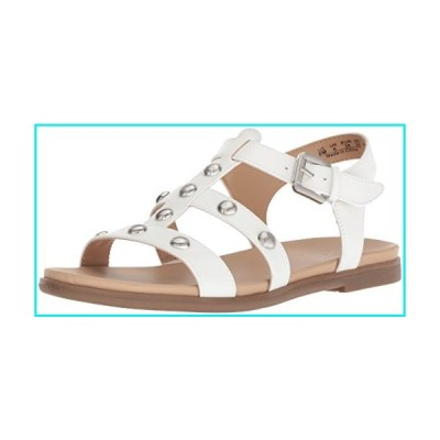 Naturalizer Women's Davi Flat Sandal, White, 4.5 M US【並行輸入品】