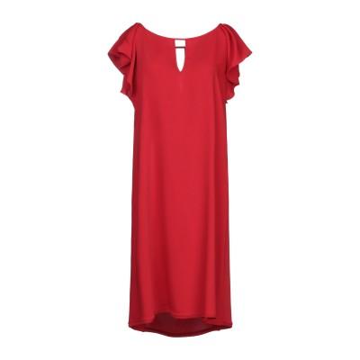 パロッシュ P.A.R.O.S.H. ミニワンピース&ドレス レッド L ポリエステル 100% ミニワンピース&ドレス