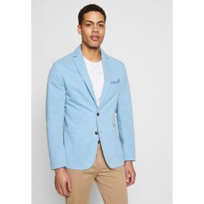 ベネトン  メンズ ジャケット&ブルゾン アウター Blazer jacket - light blue light blue