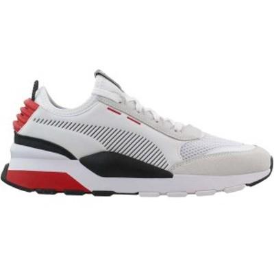 プーマ メンズ スニーカー シューズ RS-0 Winter Inj Toys Lace Up Sneakers Puma White / High Risk Red