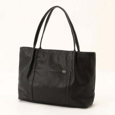 バッグ カバン 鞄 レディース 機能充実◎A4対応トートバッグ カラー 「ブラック」