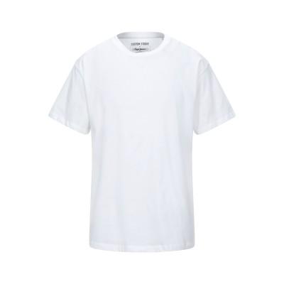 ペペ ジーンズ PEPE JEANS T シャツ ホワイト S コットン 100% T シャツ