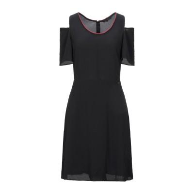 ARMANI EXCHANGE ミニワンピース&ドレス ブラック 2 ポリエステル 98% / ポリウレタン 2% ミニワンピース&ドレス