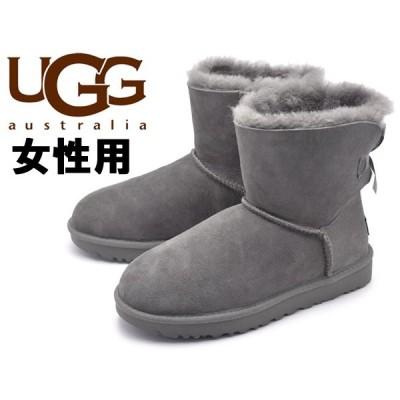 UGGアグ レディース ムートンブーツ ミニベイリーボウ II UGG 01-12620094