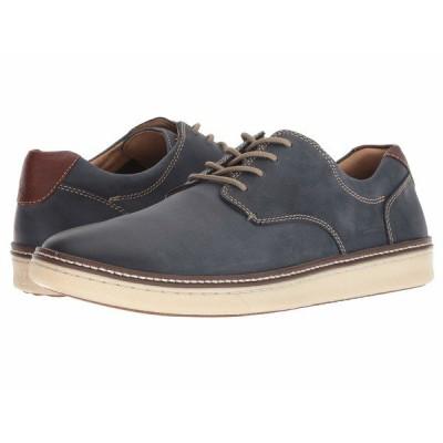 ジョンストンアンドマーフィー スニーカー シューズ メンズ McGuffey Casual Plain Toe Sneaker Navy Nubuck