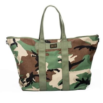 エムアイエス MIS Super Tote Bag Woodland Camo