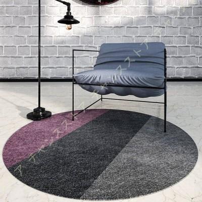 カーペット ラグ 円形マット 室内 洗える 滑り止め付 幾何学 北欧 低反発 絨毯 チェアマット 防音 洗える 花柄 防ダニ 抗菌 防臭 1年中使えるタイプ 床暖房