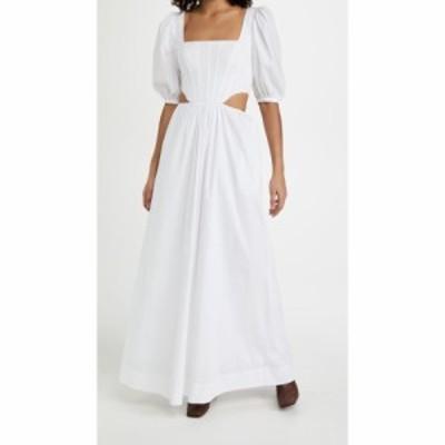 スタウド STAUD レディース ワンピース ワンピース・ドレス Astro Dress White