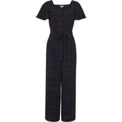 ホイッスルズ Whistles レディース オールインワン ジャンプスーツ ワンピース・ドレス Micro Triangle Print Jumpsuit Black/Multi