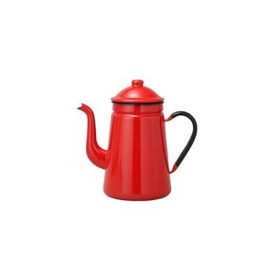 ホーローコーヒーポット 11cm 赤