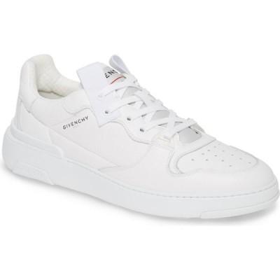 ジバンシー GIVENCHY メンズ スニーカー ローカット シューズ・靴 Wing Low Top Sneaker White