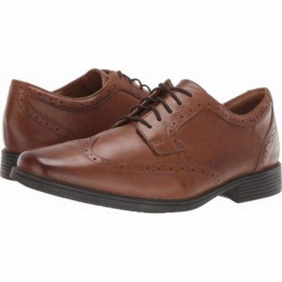 クラークス Clarks メンズ シューズ・靴 Tilden Wing Dark Tan Leather