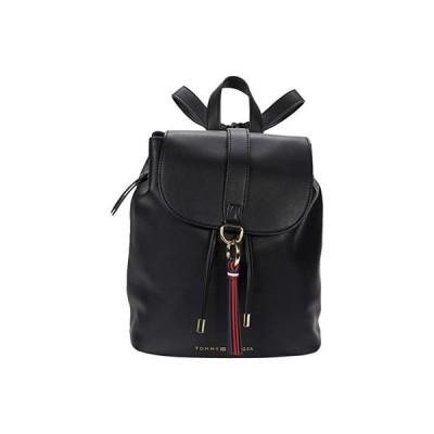 トミー・ヒルフィガー EVA Flap Backpack Smooth レディース バックパック リュックサック Black