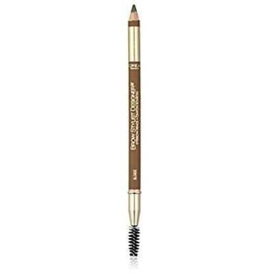 L'Oreal Paris Makeup Brow Stylist Designer Eyebrow Pencil, Blonde (Packagin