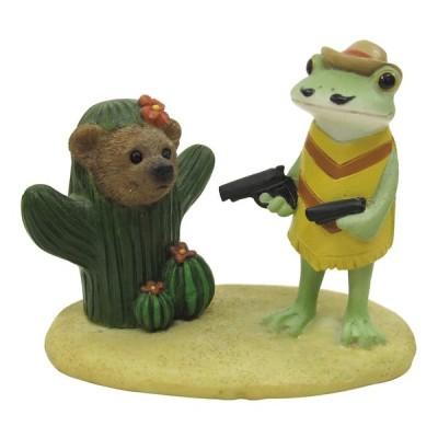Copeau(コポー) メキシコ ガンマンとクマサボテン 71428    7×3.9×5.6cm