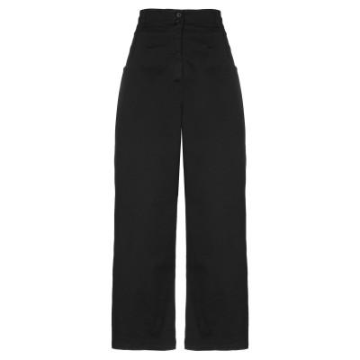 8PM パンツ ブラック M コットン 97% / ポリウレタン 3% パンツ