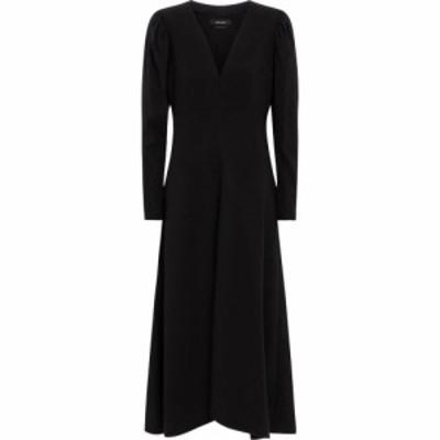 イザベル マラン Isabel Marant レディース ワンピース ミドル丈 ワンピース・ドレス silabi midi dress Black