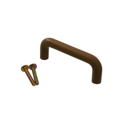 プラスチック丸棒ハンドル 80mm Mオーク
