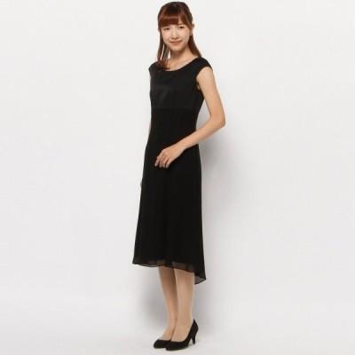 フォーマル レディース スーツ フォーマルワンピースドレス 9AR〜13AR  「ブラック」