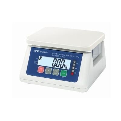 A&D A&D 取引・証明用(検定済品)防塵・防水デジタルはかり 330 x 330 x 230 mm SJ15KWP
