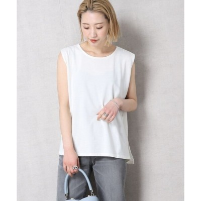 tシャツ Tシャツ ▽【WEB限定】〈高機能素材〉DEOCELL/デオセル ノースリーブフレアTシャツ