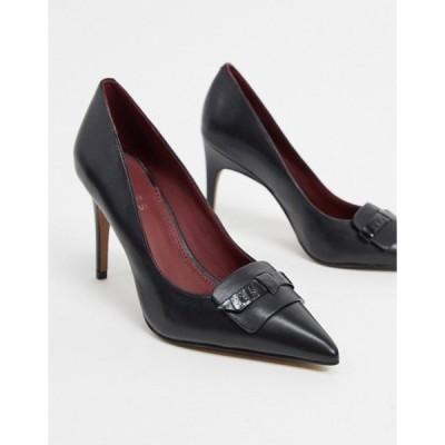 レイス レディース ヒール シューズ Reiss harriet pointed heels in black