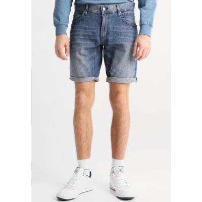 トム テイラー メンズ ファッション Denim shorts - stone blue denim