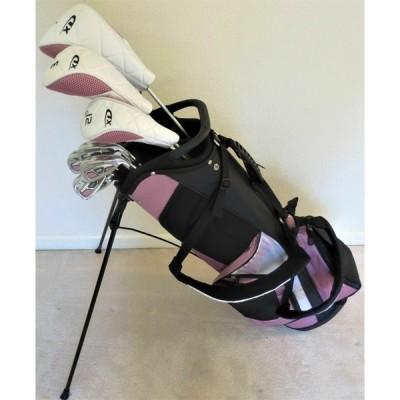 ゴルフクラブ テーラーメイド Ladies Petite Golf Club Set Driver Wood Hybrid Irons Putter