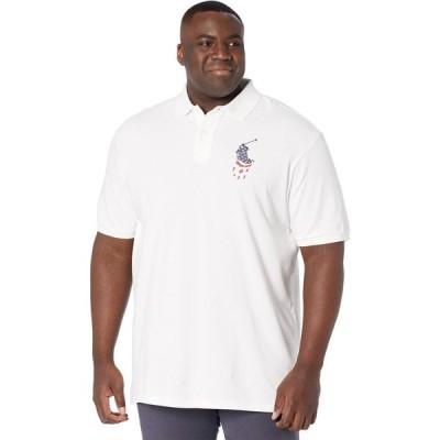 ラルフ ローレン Polo Ralph Lauren Big & Tall メンズ ポロシャツ 大きいサイズ トップス Big & Tall Classic Fit Mesh Polo White