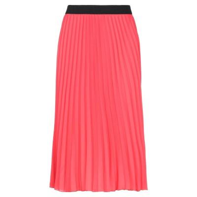 VANESSA SCOTT 7分丈スカート レッド M ポリエステル 100% 7分丈スカート