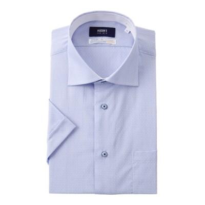 ワイドカラースタイリッシュワイシャツ【COOLMAX】