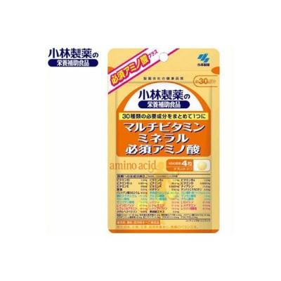 マルチビタミン+ミネラル+必須アミノ酸 120粒 (栄養機能食品) / 小林製薬