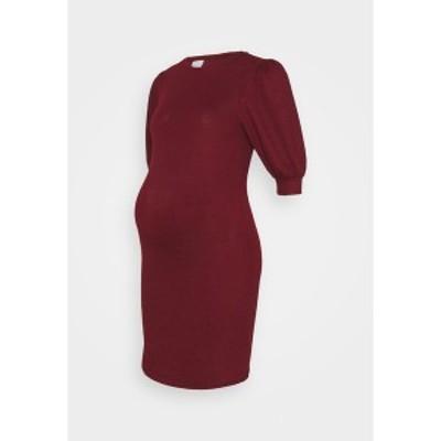 ママリシャス レディース ワンピース トップス MLCABERNET DRESS - Jersey dress - cabernet cabernet