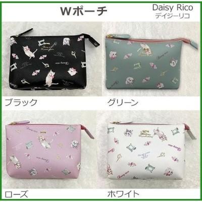 DaisyRico デイジーリコ ミミ Wポーチ DR12-16 ホワイト|b03