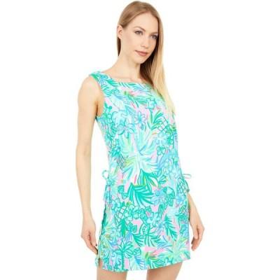 リリーピュリッツァー Lilly Pulitzer レディース オールインワン ワンピース・ドレス Donna Square Neck Romper Pelican Pink Coconut Row