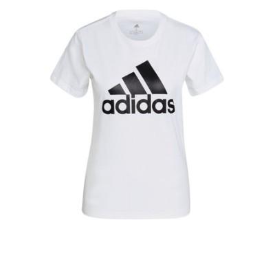アディダス(adidas)Tシャツ レディース 半袖 エッセンシャルズ ロゴTシャツ 46361-GL0649