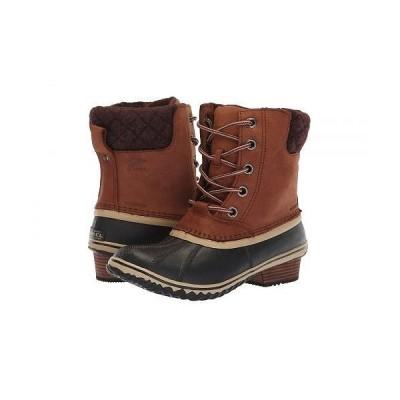 SOREL ソレル レディース 女性用 シューズ 靴 ブーツ スノーブーツ Slimpack II Lace - Burro/Cattail Nubuck Leather