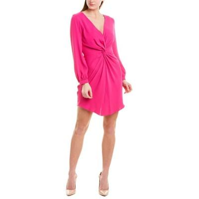 アマンダ アプリチャード ワンピース トップス レディース Amanda Uprichard Sheath Dress hot pink