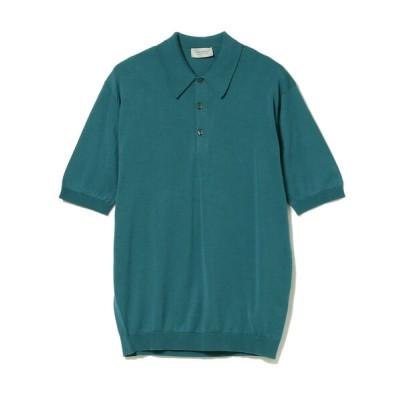 BEAMS MEN / JOHN SMEDLEY / ISIS 30ゲージ コットンニットポロ MEN トップス > ポロシャツ