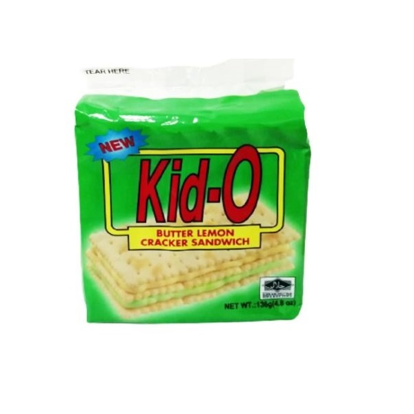 Kid-O日清三明治餅乾(檸檬口味)136g