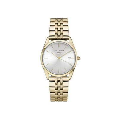 Rosefield ace Womens Analog Quartz Watch with Stainless Steel Gold Plated Bracelet ACSG-A03 並行輸入品